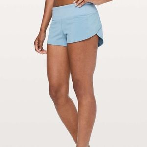 RARE lulu lemon speed up shorts